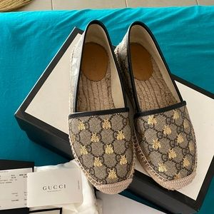 Gucci Bee Espadrilles Size 36 1/2